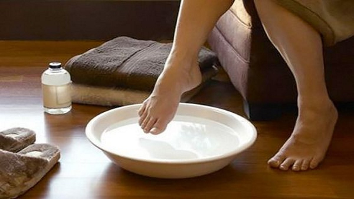 Here's homemade remedy for nail fungus. Worth a try!